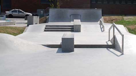 Bilde av Kjølnes betongpark