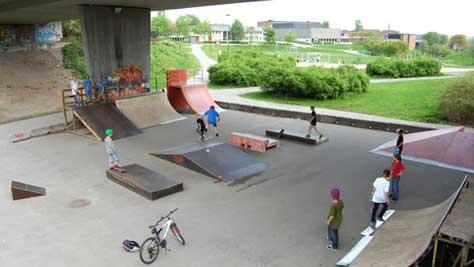 Bilde av Lundedalen skatepark