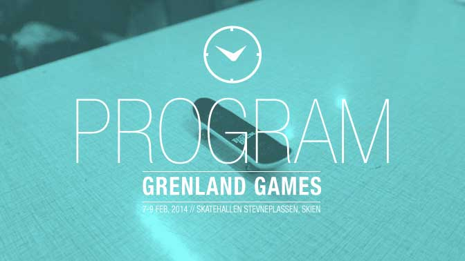 Illustrasjon program Grenland Games