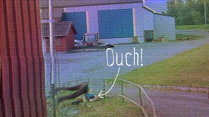 Screenshot av Sivert Riksfjords Street Edit video